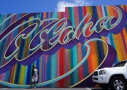 Aloha wall