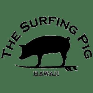 Surfing Pig Logo